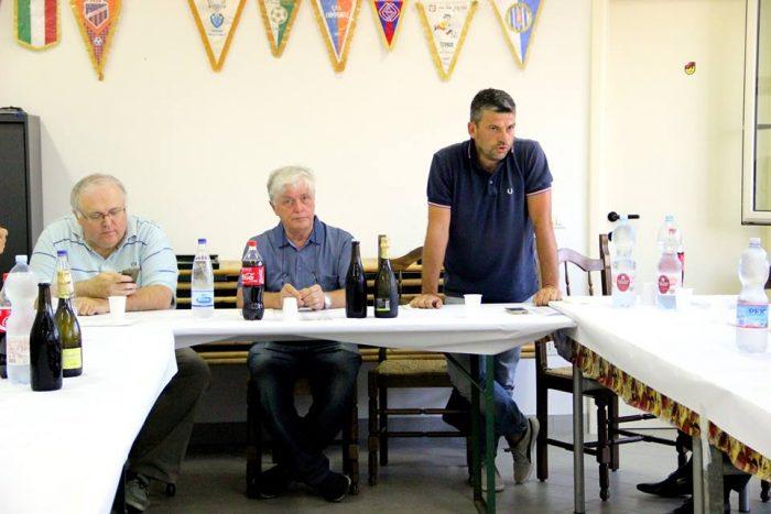 Da sinistra Alberto Borra, Agostino Reggiani e Paolo PIanesani
