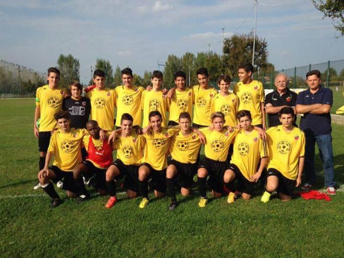 La squadra Allievi 2014-2015