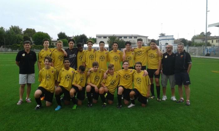 La squadra Allievi interprovinciali 20015-2016